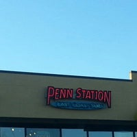 Photo taken at Penn Station East Coast Subs by Geralyn on 11/17/2012
