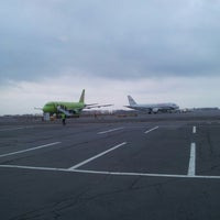 Photo taken at Bolshoye Savino International Airport (PEE) by Евгений on 4/26/2013