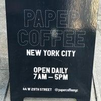 Foto scattata a PAPER coffee da Gijsbregt B. il 1/10/2018