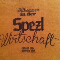 4/20/2013 tarihinde klischnetziyaretçi tarafından Spezlwirtschaft'de çekilen fotoğraf