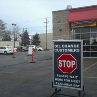 Photo taken at Scrub-A-Dub Car Wash and Oil Change by Rick T. on 1/6/2012
