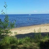 Photo taken at Lake Ladoga by Жэка Д. on 8/18/2012