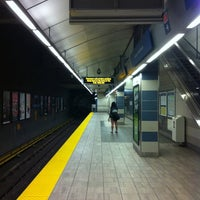Photo taken at Yaletown - Roundhouse SkyTrain Station by Sanchia on 8/16/2011