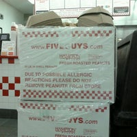Photo taken at Five Guys by Daniel S. on 12/22/2011