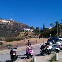 Photo taken at Hollywood Sign Vista Point by Jim Techfrog A. on 10/22/2011