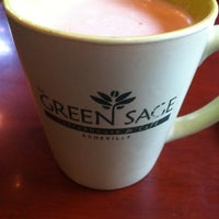 Photo taken at The Green Sage Coffeehouse & Cafe by Lisa on 8/22/2011