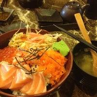 Photo taken at 百八魚場 by Livia W. on 3/21/2012
