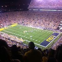 Photo taken at Tiger Stadium by Jen K. on 9/11/2011