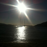 Photo taken at Tsigouri Beach by Yiannis on 8/28/2012