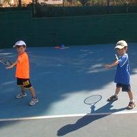 Photo taken at Kalovelonis Pikermi Tennis Club by Karina N. on 6/13/2012