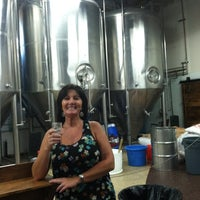 Photo taken at Latitude 33° Brewing by Stephanie F. on 9/1/2012