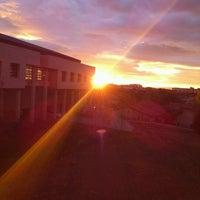 Photo taken at Bilkent 77. Yurt by Taner S. on 11/11/2012
