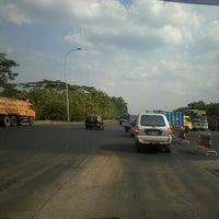 Photo taken at Tol MUKTIHARJO , Semarang , Central Java by dian r. on 9/17/2013