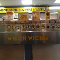 Photo taken at Which Wich? Superior Sandwiches by Tim D. on 9/9/2013
