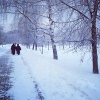 Das Foto wurde bei Воронцовский парк von Anastasia U. am 1/20/2013 aufgenommen