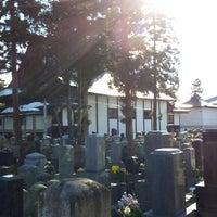 Photo taken at 専立寺 by Takehiko K. on 3/23/2014