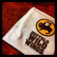Photo taken at Buffalo Wild Wings by Devin B. on 10/11/2012