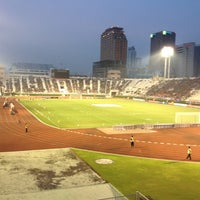 Photo taken at Supachalasai Stadium by Neung's on 11/4/2012
