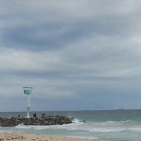 Photo taken at City Beach by Michael J. on 7/14/2013