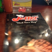 Photo taken at Jeffer Steak by Jfeilz💋 S. on 10/21/2012