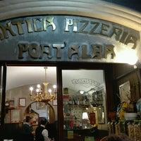 Photo taken at Antica Pizzeria e Ristorante Port'Alba by Mòni S. on 2/5/2017