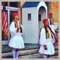 Photo taken at Yiasou Greek Festival by Andrew N. on 9/6/2013