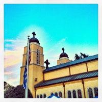 Photo taken at Yiasou Greek Festival by Andrew N. on 9/7/2013