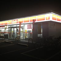 Photo taken at デイリーヤマザキ みさと団地店 by Federal on 12/23/2012