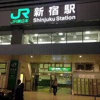Photo taken at Shinjuku Station by Federal on 7/23/2013