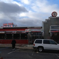 Photo taken at Tick Tock Diner by BB on 12/27/2012