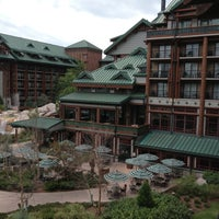 Photo taken at Disney's Wilderness Lodge by BB on 4/13/2013