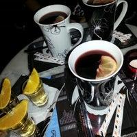 Photo taken at Why Not Café & Bar by Krisztina K. on 11/5/2012