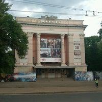 "Photo taken at Остановка «Кинотеатр ""Победа""» by Илья Е. on 6/4/2013"