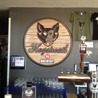 Photo taken at Hogshead Brewery by Natalie R. on 5/18/2013
