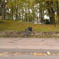 "Photo taken at Pietura ""Slokas iela"" by Vladislav L. on 10/4/2012"