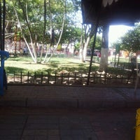 Photo taken at Parque Hobo by Liliana M. on 1/11/2013