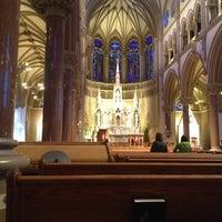 Photo taken at Saint Francis Xavier College Church by Jonathan E. on 2/24/2013