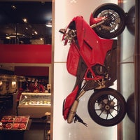 Photo taken at Ducati Caffe by Haekal A. on 2/1/2013