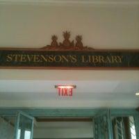 Photo taken at Stevenson's Library by Bradley on 6/11/2013