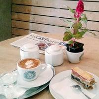 Photo taken at Pilot Cafe by Eszti K. on 5/20/2014