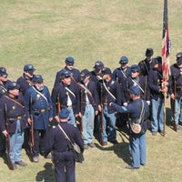 Photo taken at Fort Macon Visitors Center by Martha on 9/22/2012