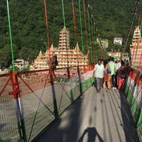 Photo taken at Lakshman Jhula | लक्ष्मण झूला by Kseniya S. on 8/3/2016