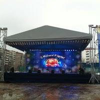 Photo taken at Площадка у ТРЦ «Июнь» by Рулон О. on 1/2/2013