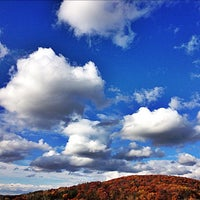 Photo taken at Hornell Golf Club by Christi W. on 10/20/2012