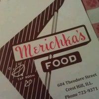 Photo taken at Merichka's Restaurant by Sandy D. on 5/4/2013