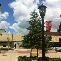 Photo taken at East Campus Mall by Liz D. on 6/13/2013
