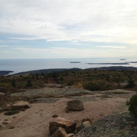 Photo taken at Cadillac Mountain by Brittany M. on 10/7/2012