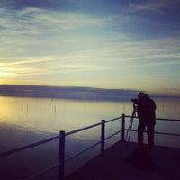 Photo taken at Lago Trasimeno by Michele F. on 12/30/2012
