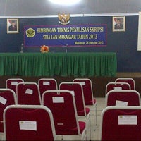Photo taken at Sekolah Tinggi Ilmu Administrasi - Lembaga Administrasi Negara (STIA LAN) by Anthony C. on 10/26/2013