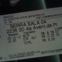 Photo taken at Cine Araújo by Heloisa S. on 12/29/2012